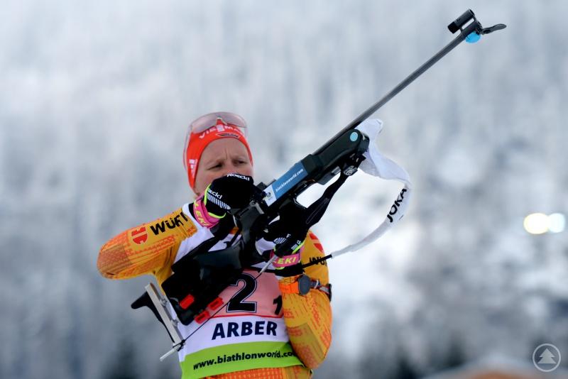 Hildebrand zeigte ihre bislang beste Leistung im Staffelrennen.