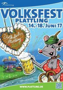 Volksfest Plattling | Mi, 14.06.2017 - So, 18.06.2017