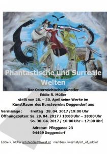 Phantastische und surreale Welten | Fr, 28.04.2017 - So, 30.04.2017 von 10:00 bis 18:00 Uhr