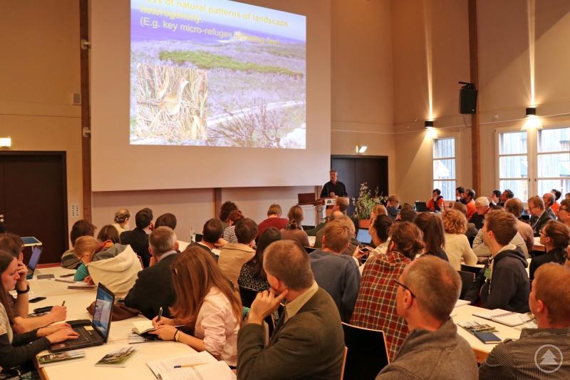 Im Filmsaal vom Neuschönauer Hans-Eisenmann-Haus tagten die knapp 200 Forscher aus über 20 Ländern.