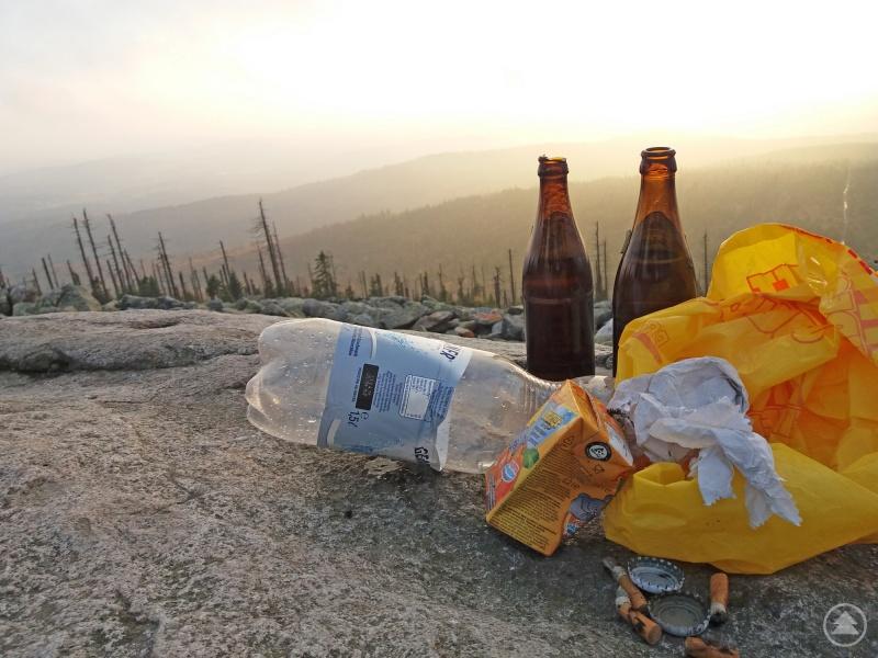 Müll abladen ist in der Nationalpark-Natur tabu. Um dafür zu sensibilisieren, soll nächstes Jahr eine Kampagne zur Abfallvermeidung gestartet werden.