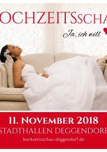 HOCHZEITSschau | So, 11.11.2018 von 10:00 bis 17:00 Uhr