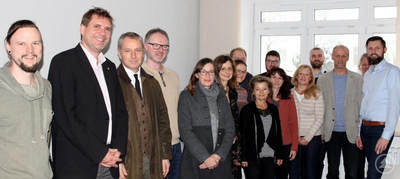 Die Teilnehmer des JaS-Projektbeiratstreffens in der vhs Arberland.