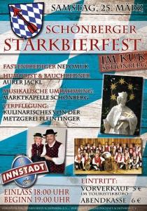 Starkbierfest in Schönberg | Sa, 25.03.2017 ab 18:00 Uhr