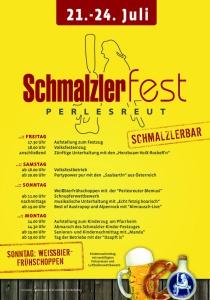 Schmalzlerfest in Perlesreut | Fr, 21.07.2017 - Mo, 24.07.2017