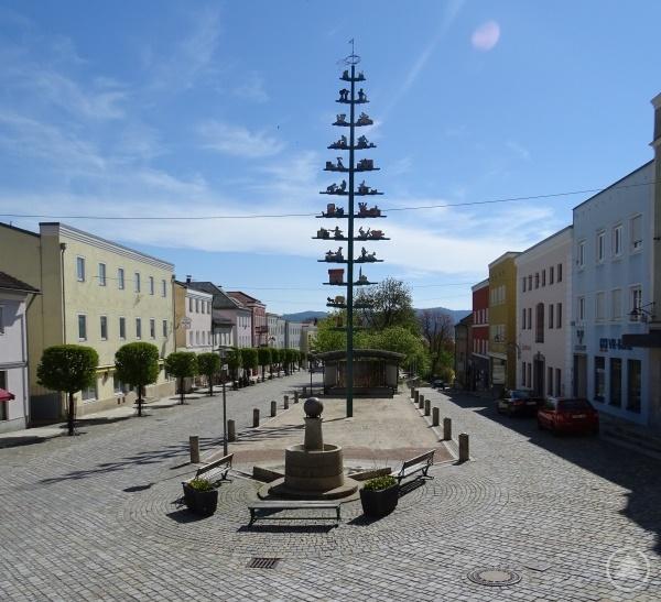 Der Marktplatz in Schönberg