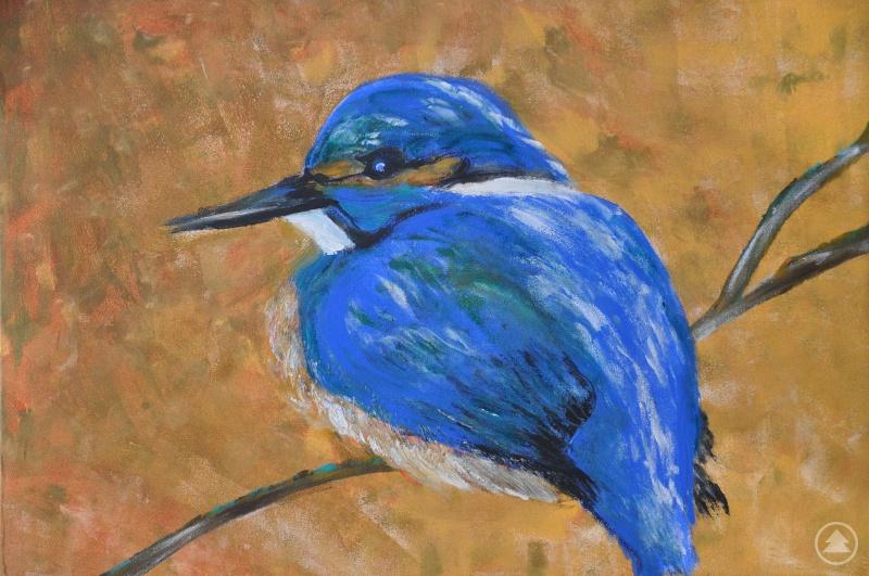 Eines der Gemälde von Waltraud Grosse mit dem Titel