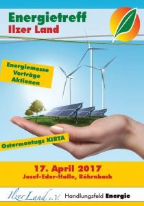 Energietreff Ilzer Land - Klimaschutz geht alle an | Mo, 17.04.2017 von 11:00 bis 17:00 Uhr