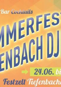 5. Sommerfest des FC Tiefenbach DJK | Sa, 24.06.2017 - So, 25.06.2017 ab 17:30 Uhr