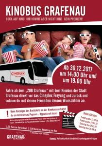 Kinobus Grafenau | Sa, 24.02.2018 ab 14:00 Uhr