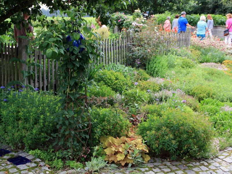 In Weißenstein öffneten Rosemarie Wagenstaller und Günther Sebald die Türe zu ihrem Garten.