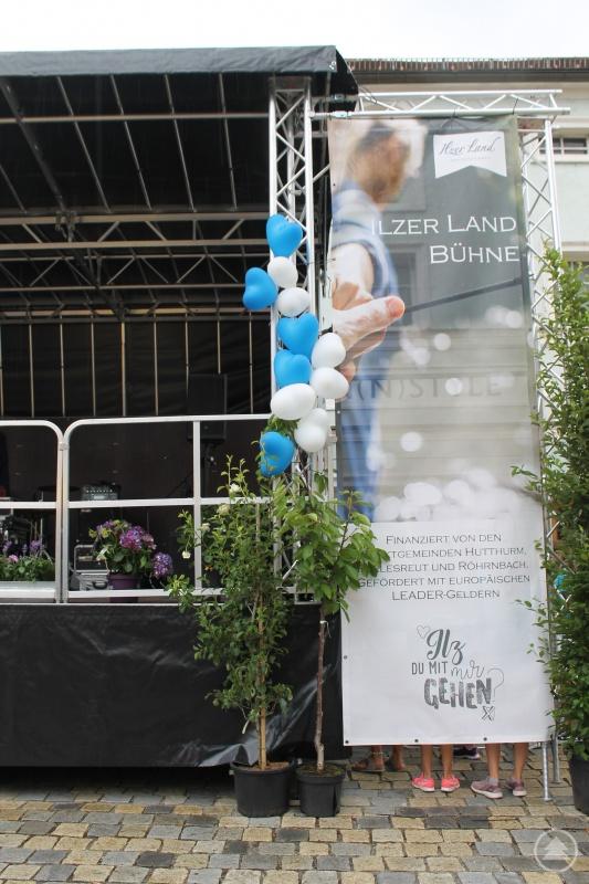 """""""Ilzer Land Bühne"""", soll das gute Stück in Zukunft heißen. Damit soll die Gemeinschaft in der ILE gezeigt und gestärkt werden."""