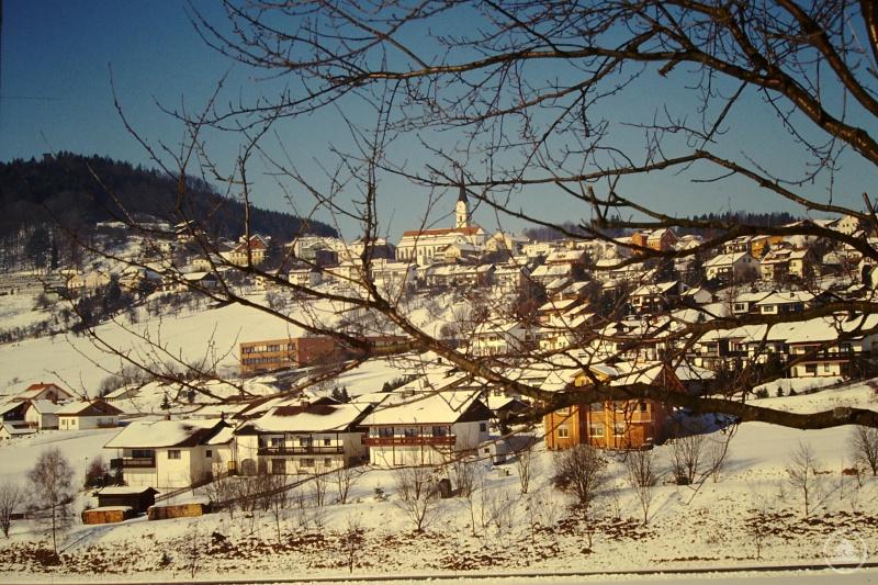 Auch im Winter ist der Markt Schönberg ein beliebtes Ausflugsziel.
