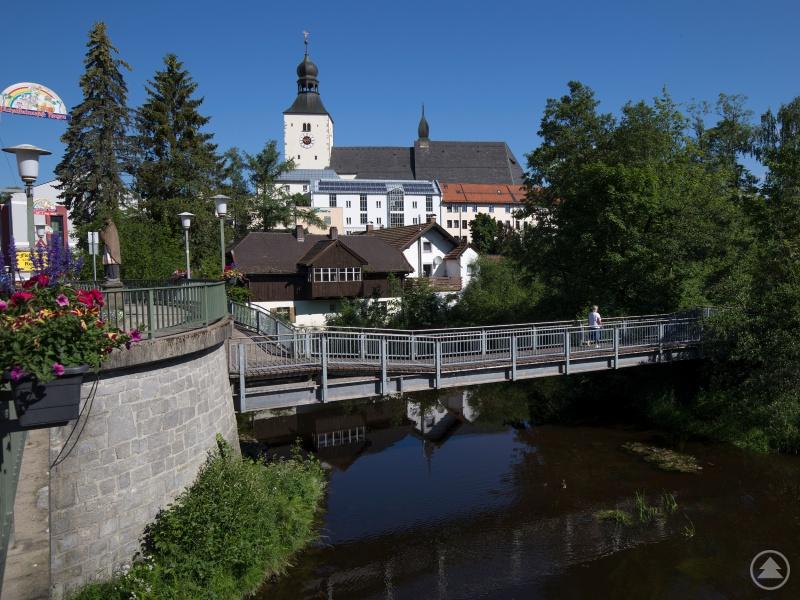 Die heutige Ludwigsbrücke
