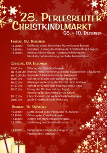 Perlesreuter Christkindlmarkt | Fr, 08.12.2017 - So, 10.12.2017