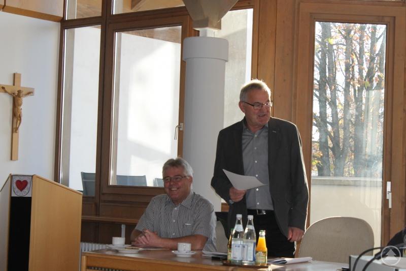 Bürgermeister Josef Gutsmiedl (Marktgemeinde Röhrnbach) und Bürgermeister Max Köberl (Gemeinde Ringelai)