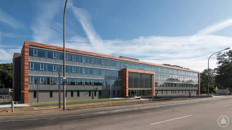 Das neue Verwaltungsgebäude der Sozialverwaltung des Bezirks Niederbayern.