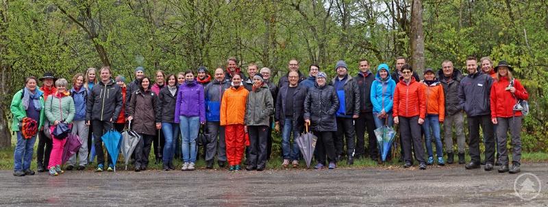 32 Lehrer des Mittelschulverbundes Zwiesel und Bodenmais nahmen an der Lehrerfortbildung des Nationalparks teil.