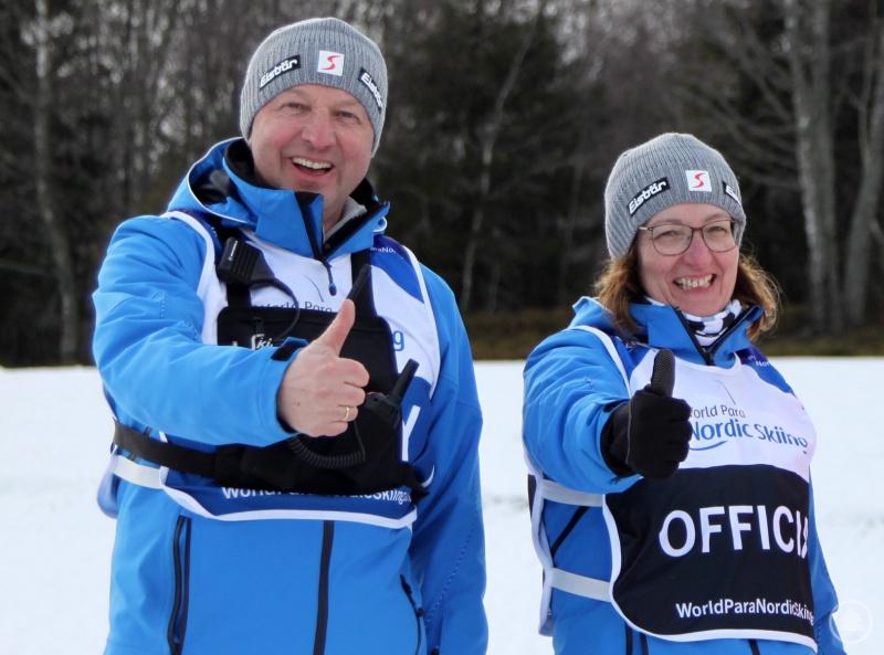 Allen Problemen zum Trotz bleiben Wettkampfleiter Karl Eder und seine Frau und Stellvertreterin Sylvia optimistisch.