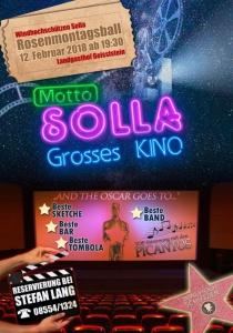 Rosenmontagsball in Solla | Mo, 12.02.2018 von 19:30 bis 03:00 Uhr