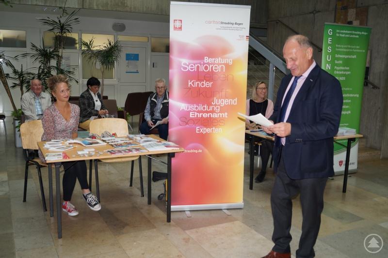 Der Stellvertretende Landrat Franz Xaver Eckl eröffnete den Aktionstag.