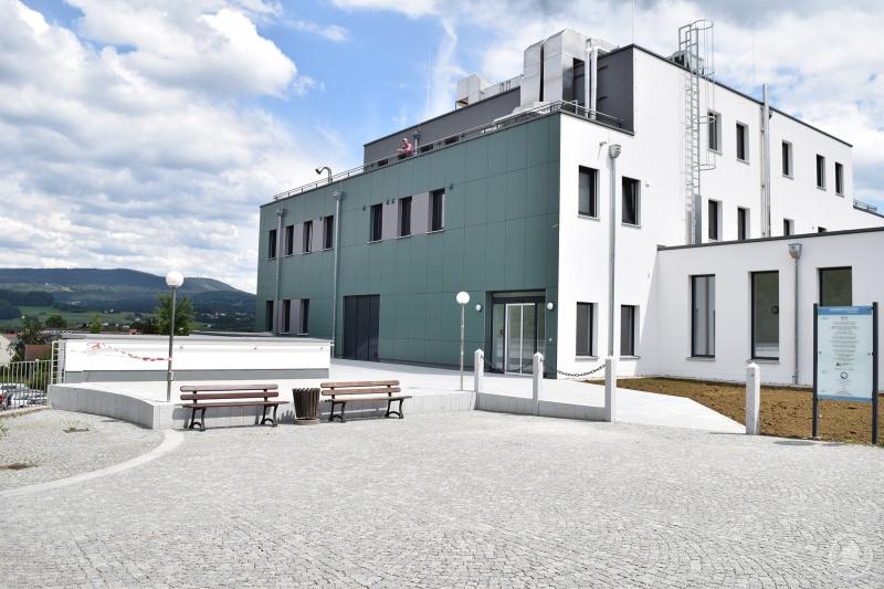 Neues Gesundheitszentrum direkt an der Arberlandklinik Viechtach.