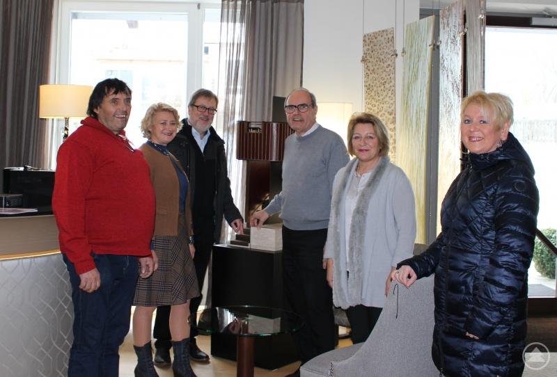 von links: Manfred Herbinger, PStn Rita Hagl-Kehl, Leopold Ritzinger, Felix Graf, Mechthild Graf, Martina Stingl