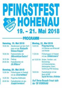 Pfingstfest Hohenau | Sa, 19.05.2018 - Mo, 21.05.2018