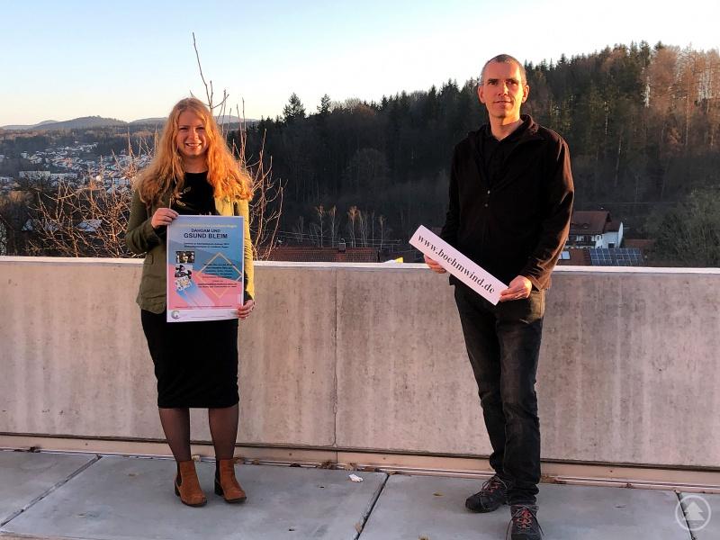 Natalie Walter und Matthias Wagner haben den Wettbewerb ins Leben gerufen.