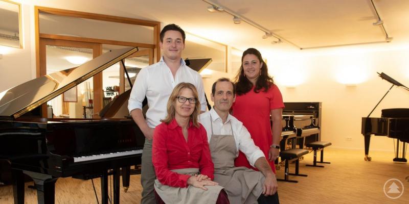 Das Team von Piano Mora.