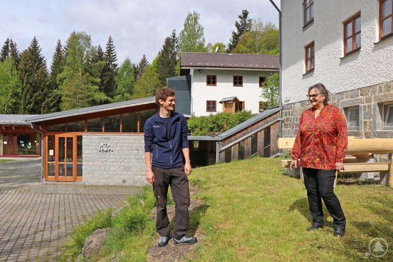 Als Rita Gaidies 2008 die Leitung des Jugendwaldheims übernahm, war Jan Günther ihr Zivi. Nun übernimmt er selbst den Chefposten.