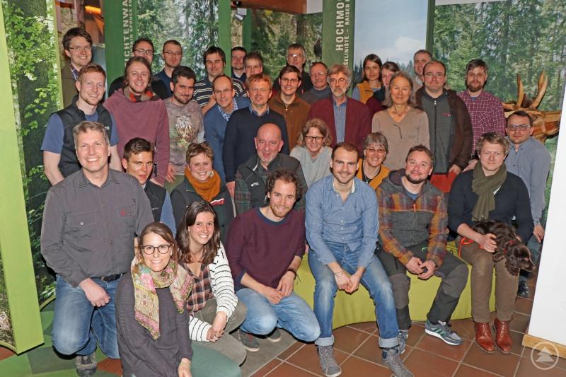 Zum Auftaktworkshop des Forschungsprojekts trafen sich Nationalparkvertreter und Forscher aus vier Ländern im Waldgeschichtlichen Museum in St. Oswald.