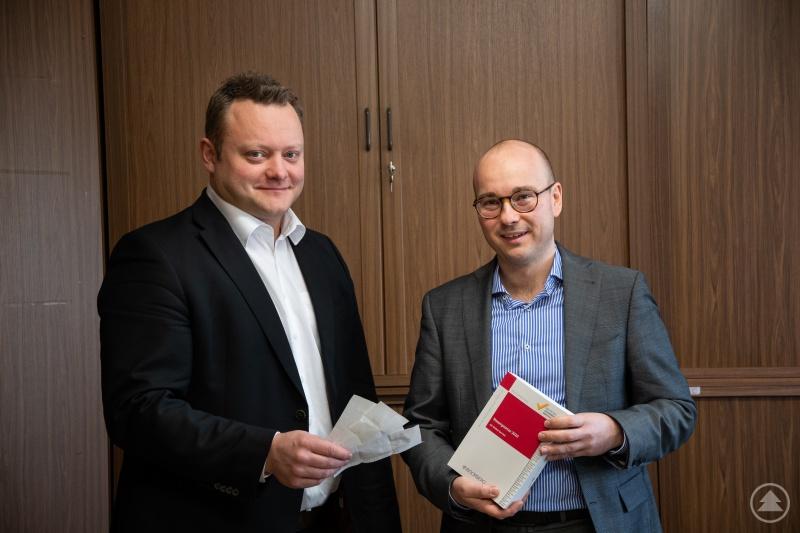 Stefan Behringer und Dipl.-Kfm. Martin Leybach
