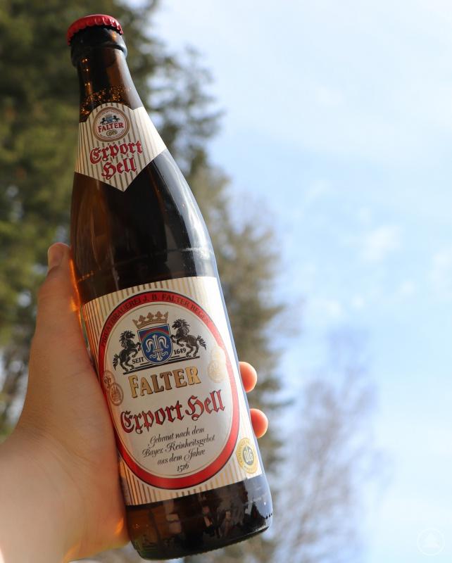Die Biere der Brauerei Falter wie das Export Hell wurden schon mehrfach mit renommierten Preisen ausgezeichnet. Der Bundesehrenpreis ist die höchste Auszeichnung für deutsche Brauereien.