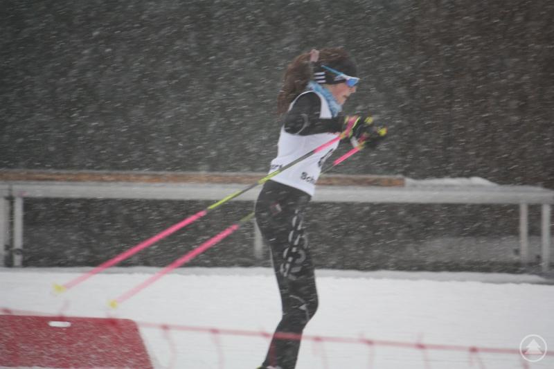 Im Schneegestöber: Hanna Hackl