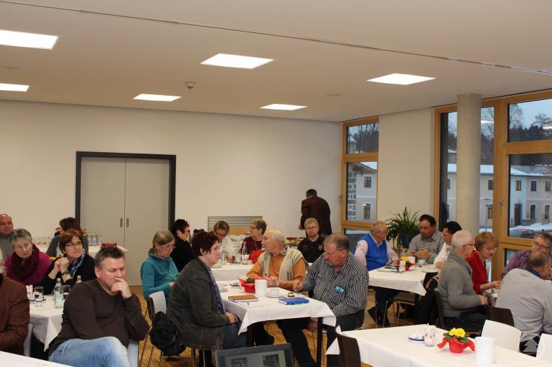 Treffen der kommunalen Senioren- und Behindertenbeauftragten in den Freyunger Caritaswerkstätten – eine angemessene Bewirtung der Gäste ist dabei selbstverständlich.