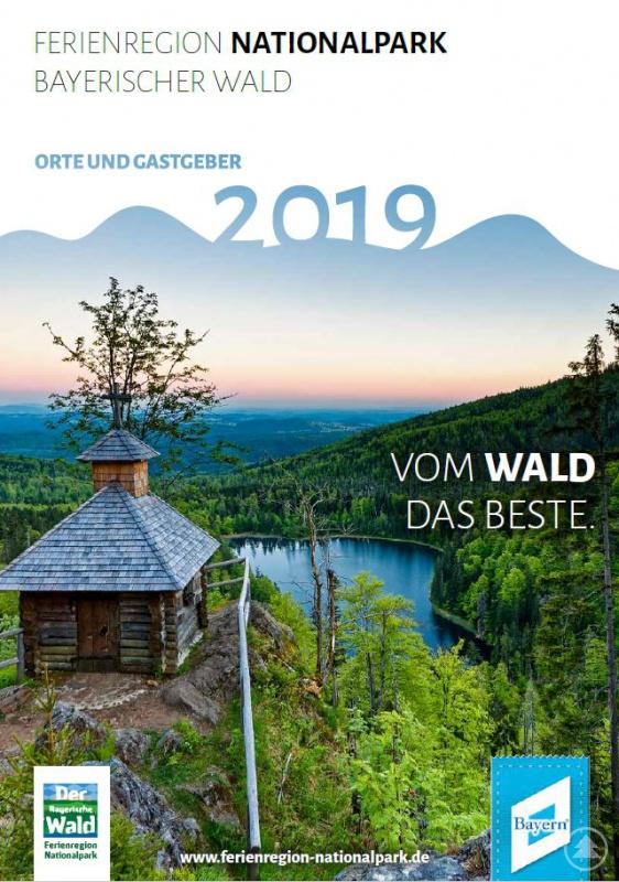 Das neue Gastgeberverzeichnis der Ferienregion Nationalpark Bayerischer Wald.