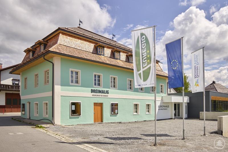 Im Europahaus in Freyung wird ganz vielfältig am Zusammenwachsen des Grenzraums gearbeitet.