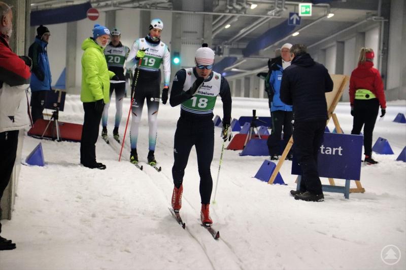 """""""FRG-ler"""" Max Weidner (Nr. 18) freut sich auf Heimweltcup-Premiere in Finsterau."""