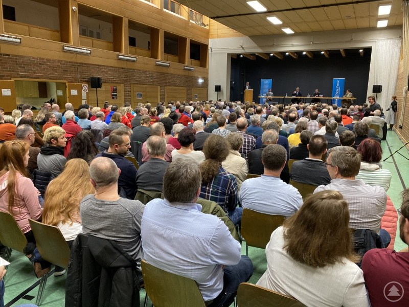Podiumsdiskussion in Haus i. Wald