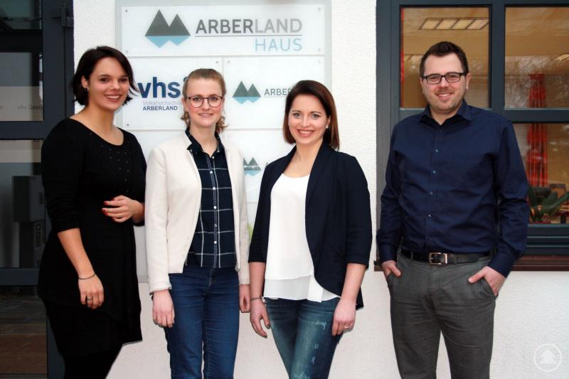 Archiv-Bild |v.l.: Johanna Brunner-Rinke, Teresa Kaiß, Maria Schneider und Tobias Wittenzellner