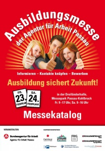 11. Ausbildungsmesse Passau | Fr, 23.02.2018 - Sa, 24.02.2018 von 09:00 bis 17:00 Uhr