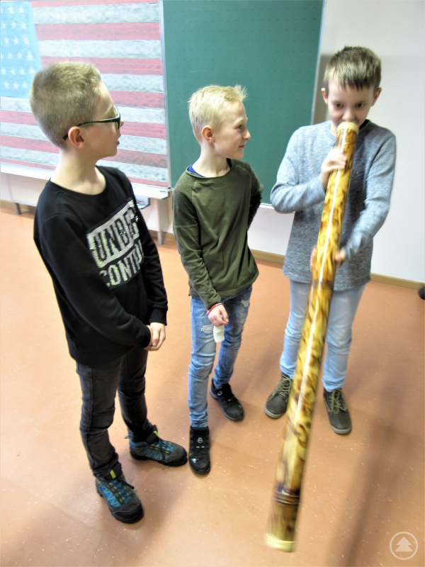 Dem australischen Didgeridoo Töne zu entlocken, war ein ziemlicher Spaß!