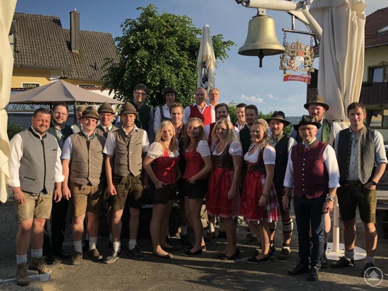 Die Musikanten der Wirtshaustour.