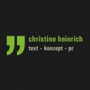 Christine Heinrich  - Text + Konzept + PR
