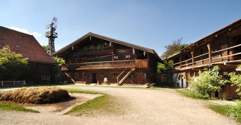 Der Kochhof im Freilichtmuseum Massing