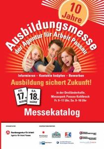 Ausbildungsmesse Passau | Fr, 17.03.2017 - Sa, 18.03.2017 von 09:00 bis 17:00 Uhr
