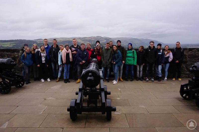 Stirling Castle vor Highlands
