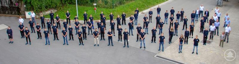 62 junge Menschen, darunter vier dual Studierende, starteten jetzt bei ZF am Standort Passau ihre Ausbildung.
