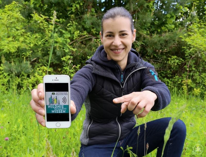 """Freut sich über die Nominierung in der Kategorie """"Moderation"""": Julia Reihofer von """"Unser Radio"""", die in zwölf Folgen die Forschung im Nationalpark vorgestellt hat."""